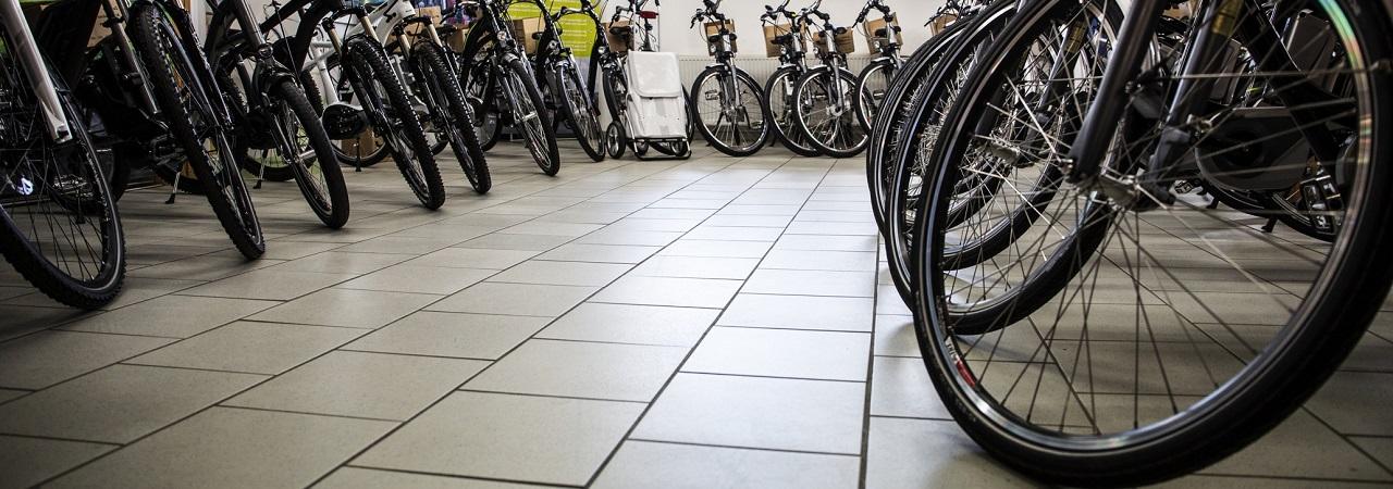 Fahrräder in großer Auswahl